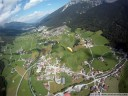 paragliding through stubai valley