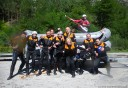 rafting team photo