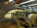 airbus a380-800. this shaky picture is for anton. :)