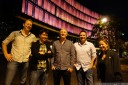 dinner with lightfield masters and blonde robots - chris horsley-wyatt, ren ng, eamon drew, dan miall and kristen berman