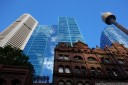 old and new, sydney cbd. 2012-10-13 07:43:45, DSC-RX100.
