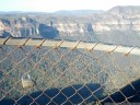 a single love padlock at anvil rock, blue mountains national park.. 2012-10-27 07:38:11, Galaxy Nexus.
