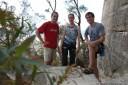 rock climbing at mount york. 2012-11-25 07:31:03, DSC-RX100.