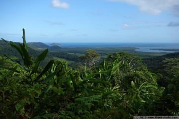 stunning views from alexandra lookout (walu wugirriga), daintree national park