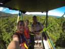 danielle, andrew and i, up in the daintree rainforest canopy