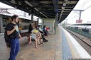 sydney central, platform 16. nothing out of the ordinary.