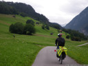 bike route near schoenwies, tirol, austria