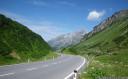 biking down arlbergstraße from beautiful st. christoph am arlberg. we reached 50+ km/h.