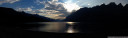 panorama: walensee at (almost) sunset