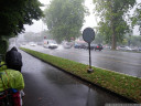heavier rains just outside of morges