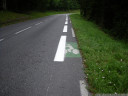 what if the bike lane is too narrow for the bike lane symbol?