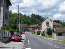 arriving in the quiet little village of peyrieu