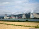 nuclear power plants and public art, cruas-meysse