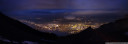 panorama: view of innsbruck at night