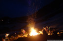 summer solstice fires at seegrube, innsbruck