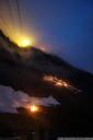 summer solstice fires and hafelekar station (seegrube, innsbruck)