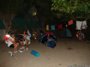 our night camp, at la-grande-motte