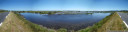 panorama: étang de la palme - lots more water than in the camargue wetlands. ;)