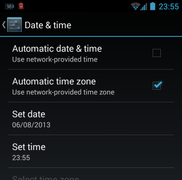how to change a file's modified date in android