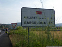 only 65 kilometers to barcelona