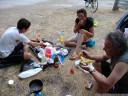 dinner at camping malvarrosa de corinto SL, sagunto