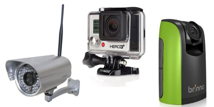 construction time-lapse options: ip cameras vs. gopro hero 3+ vs. brinno