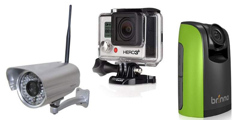 construction time lapse options: ip cameras vs. gopro hero 3+ vs. brinno