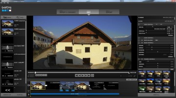 how to convert an .avi file for use in gopro studio, using only freeware