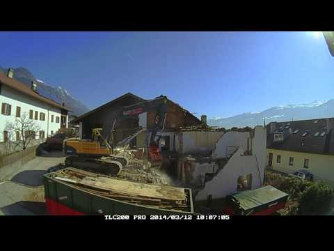 brinno tlc200 pro: first construction time lapse video results [video]