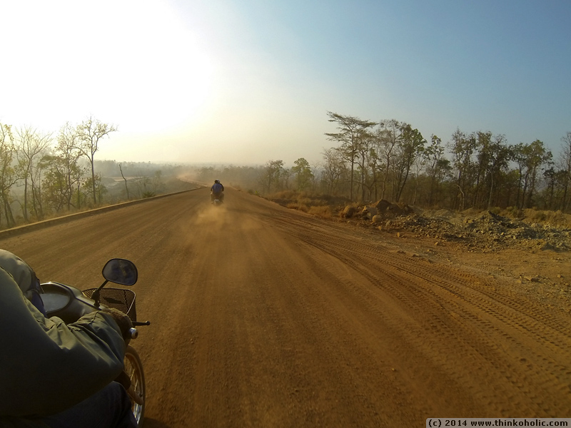 motodup ride from ban lung to koh nhek