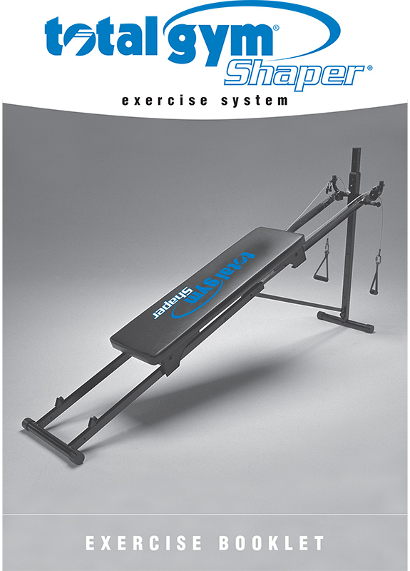 total gym 1000/1500 exercise manual, pdf download