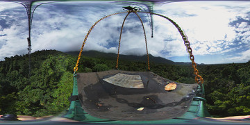 360 video: canopy crane ride at the daintree rainforest observatory