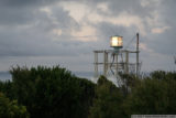 the modern, solar light beacon at cape otway
