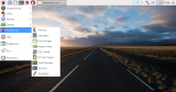 raspberry pi: raspbian jessie start menu screenshots