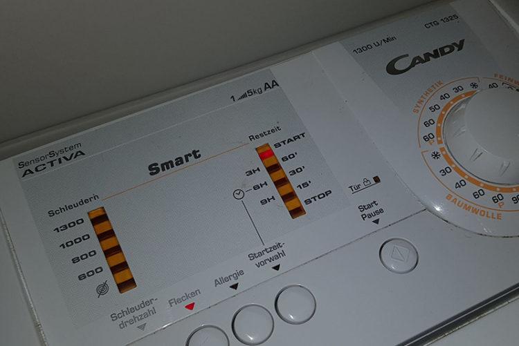 Sammlung: Fehlercodes von Candy Waschmaschinen