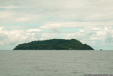 apolima island's north side, seen from the ferry from upolu to savaii