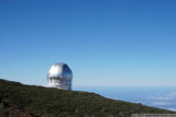 the gran telescopio canarias, at roque de los muchachos, la palma, canary islands