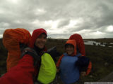 expect cold, wet weather on the overland track!