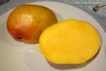 Mangos der Sorte Shelly (Foto: Markus Nolf / Vom Essen Besessen)